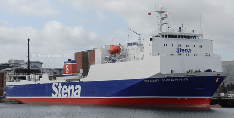 STENA HIBERNIA. Copyright © Scott Mackey