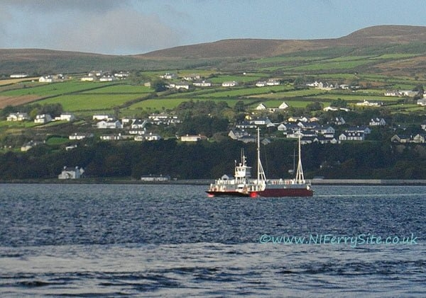 Photo of Lough Foyle Ferry Company cease operations.