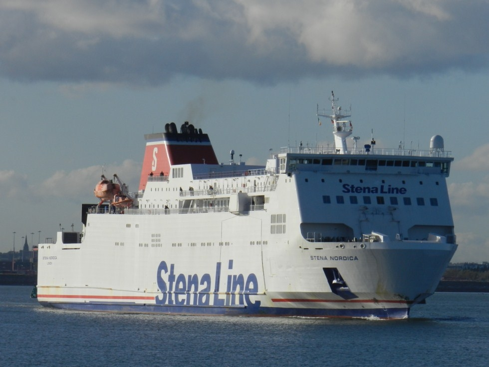 Photo of Stena Superfast X en-route to Holyhead, Stena Nordica expected in Belfast soon
