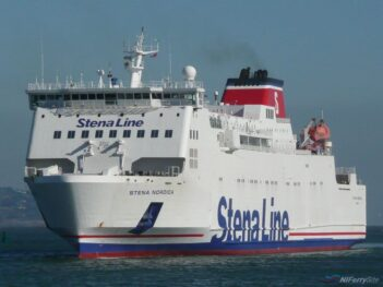 STENA NORDICA arriving at Dublin. Copyright © Trevor Kidd.