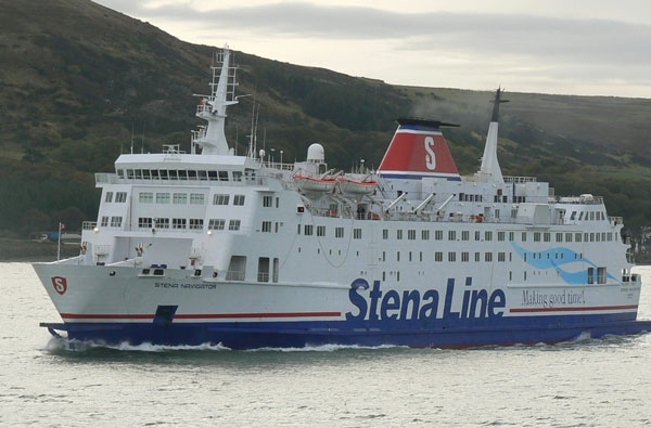 Stena Navigator. Photograph Copyright © Scott Mackey.