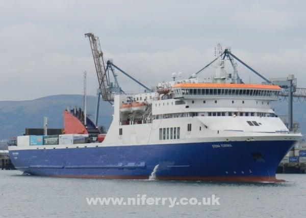 Photo of Stena Feronia en route