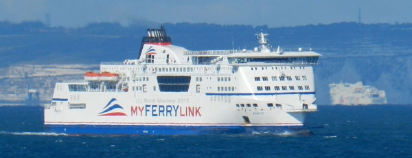 MyFerryLink ferries Berlioz and Rodin sold to DFDS