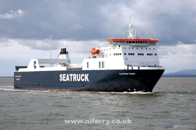 CLIPPER POINT. Seatruck Ferries.