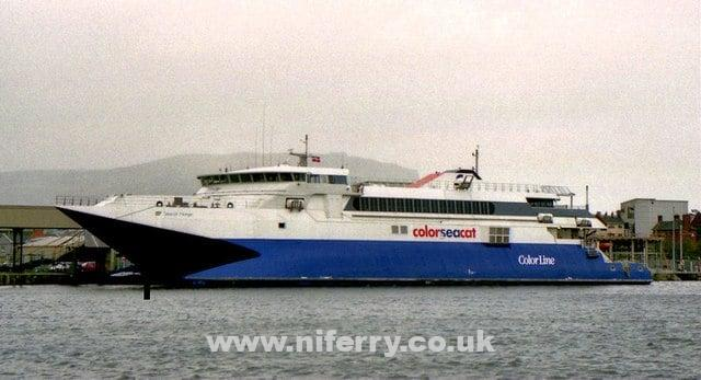 Seacat Isle of Man / Snaefell | NI Ferry Site