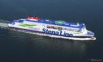 Rendering of the new Stena E-Flexer class. All four vessels are now confirmed as earmarked for Stena's routes from Belfast. Stena Line.