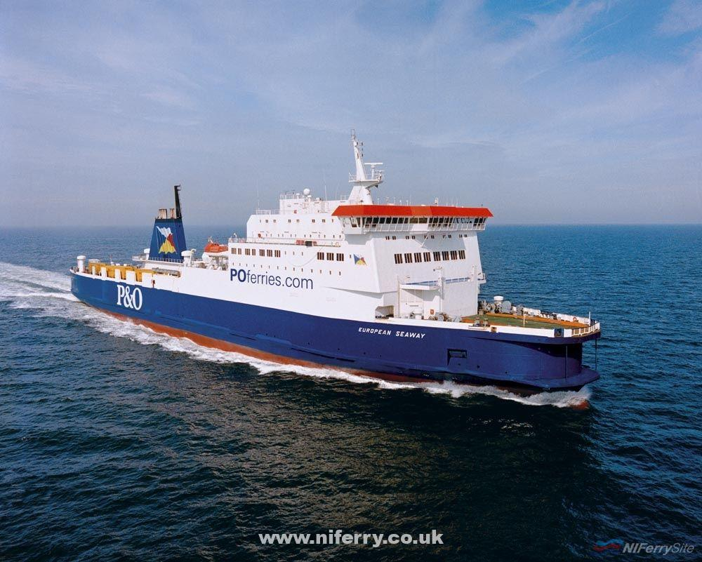 Photo of European Seaway to operate Larne to Cairnryan in May?