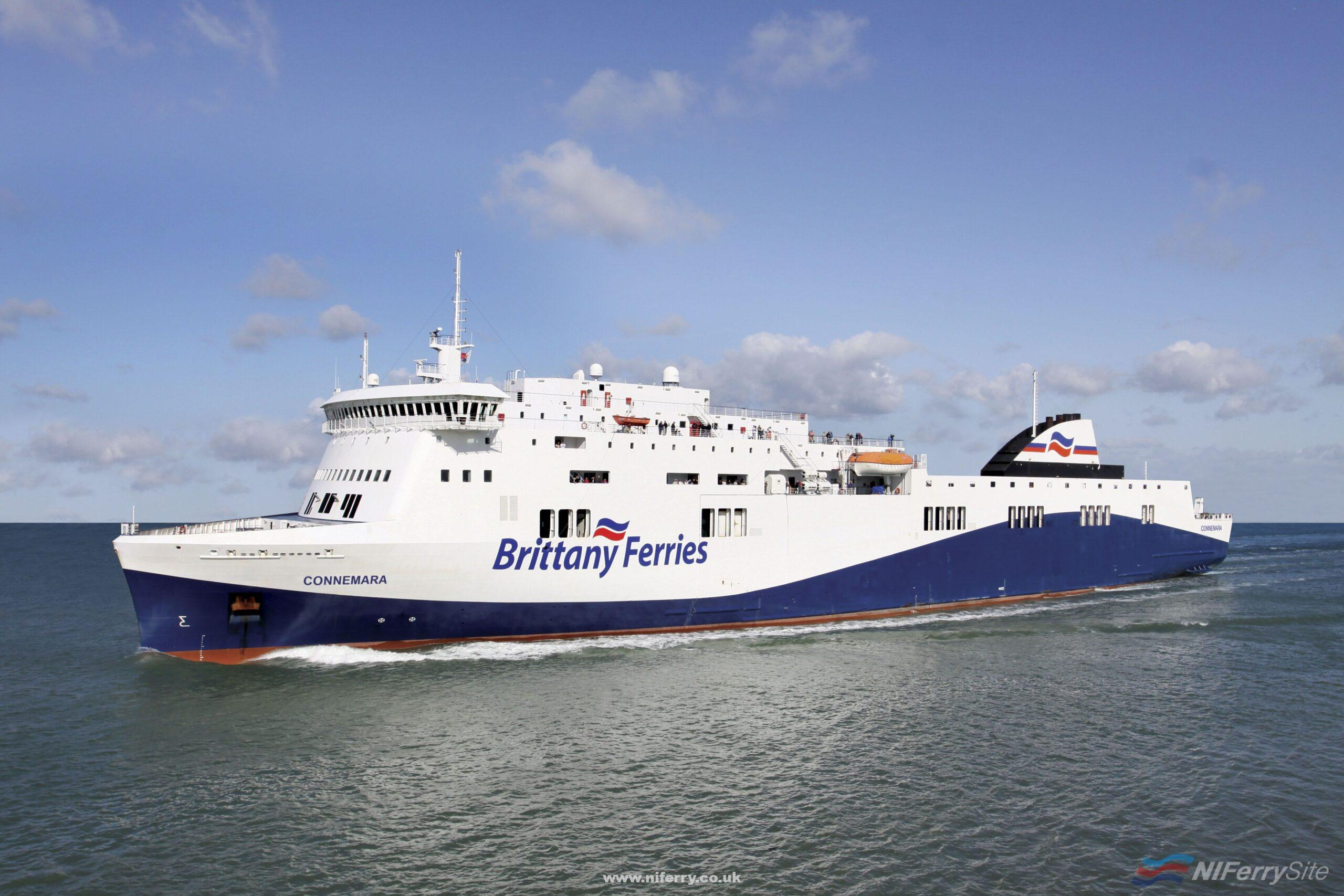 An artists impression of Brittany Ferries Cork - Santander vessel CONNEMARA. Brittany Ferries.