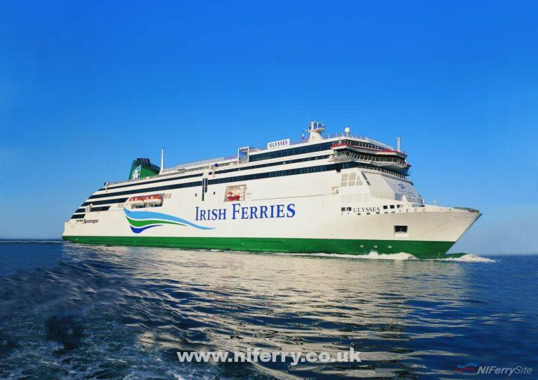 Irish Ferries ULYSSES. Irish Ferries.