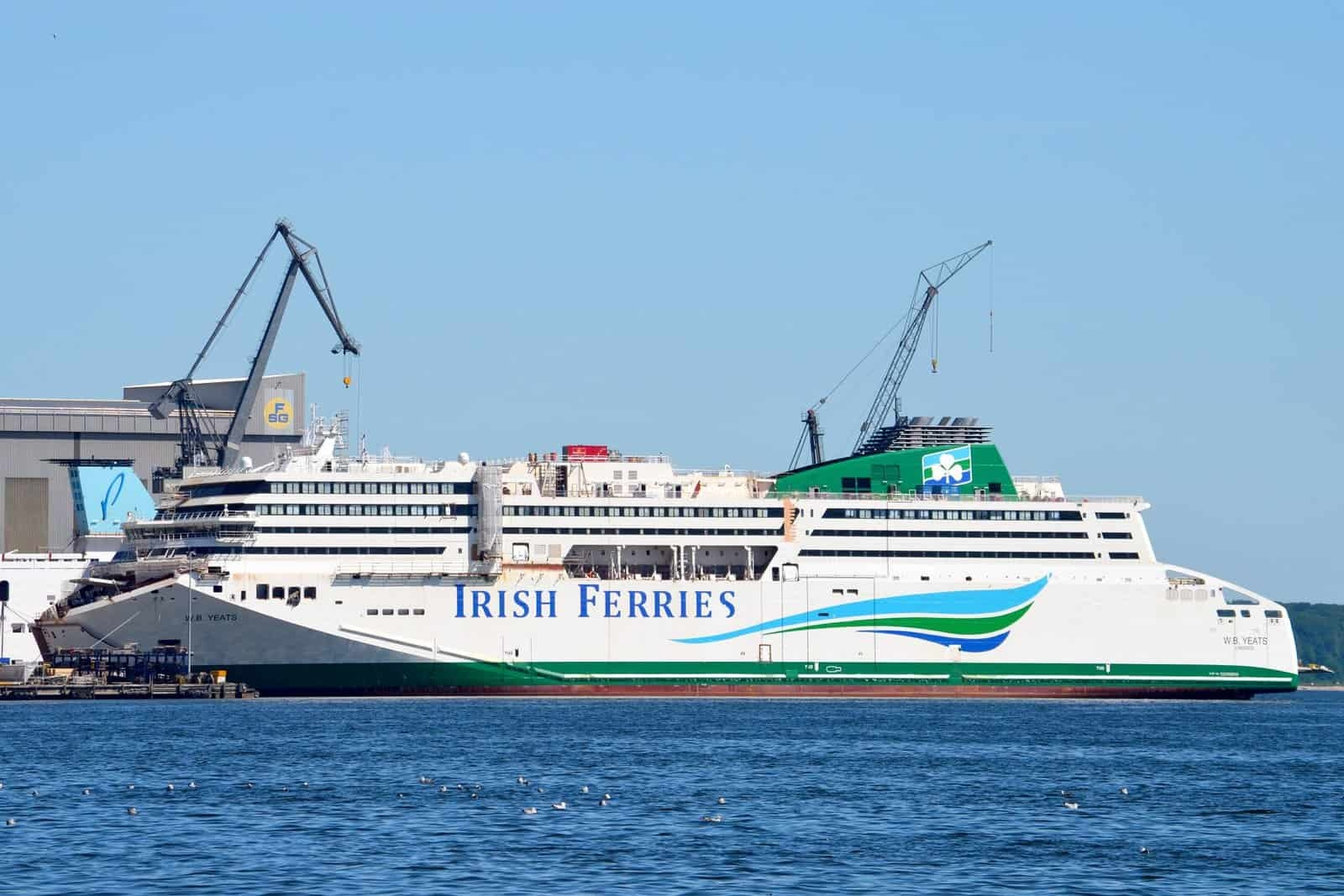 8e65a3256b Irish Ferries cancels all summer sailings of new Ireland to France flagship  W.B. YEATS - NI Ferry Site