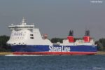 STENA FORERUNNER seen fresh from her refit, 24.07.18. Copyright © Rob de VIsser.