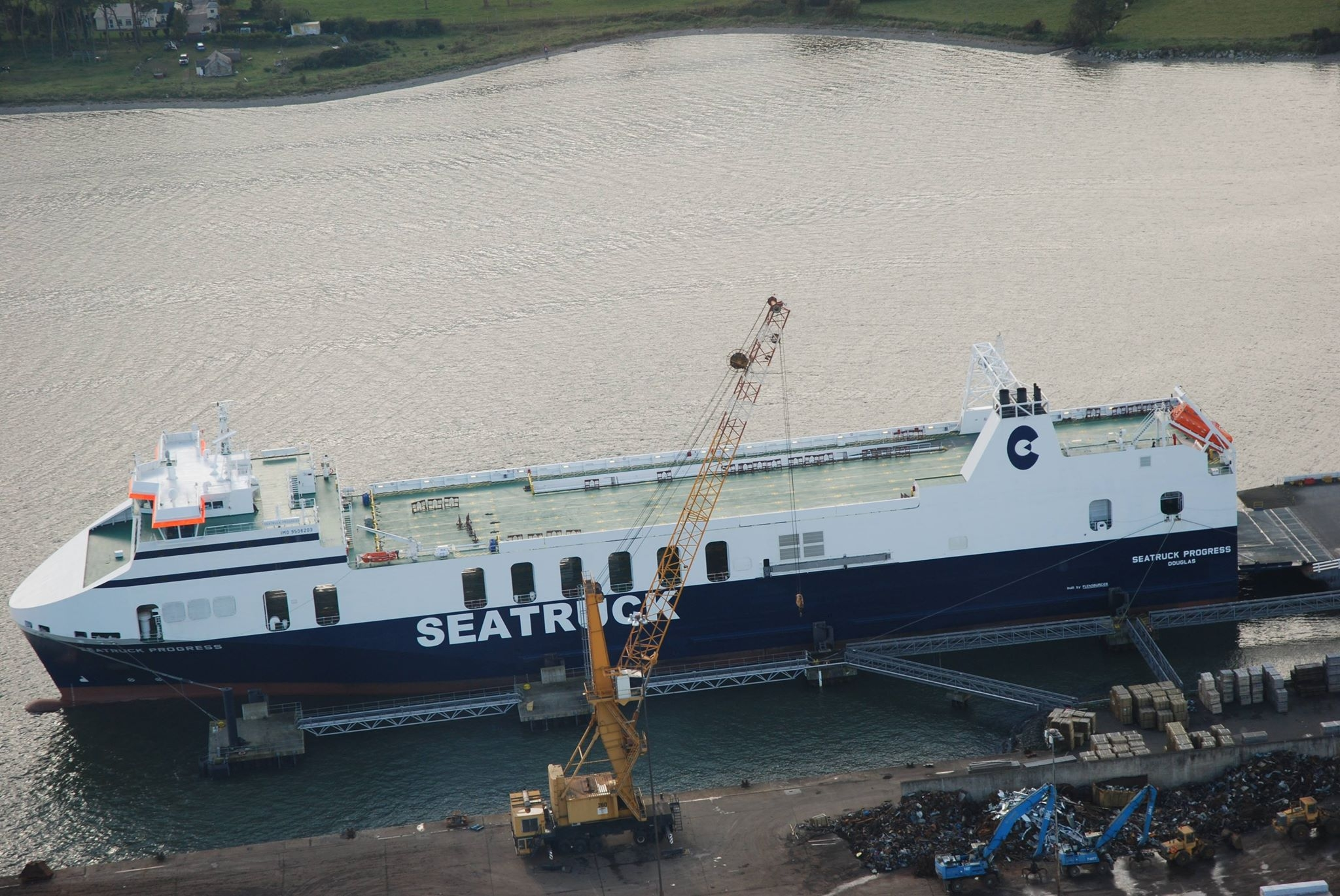 Photo of Quick News: Seatruck Progress to dry dock in Belfast tomorrow