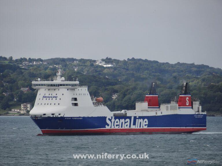 STENA FORERUNNER, August 2018. Copyright © David Faerder.