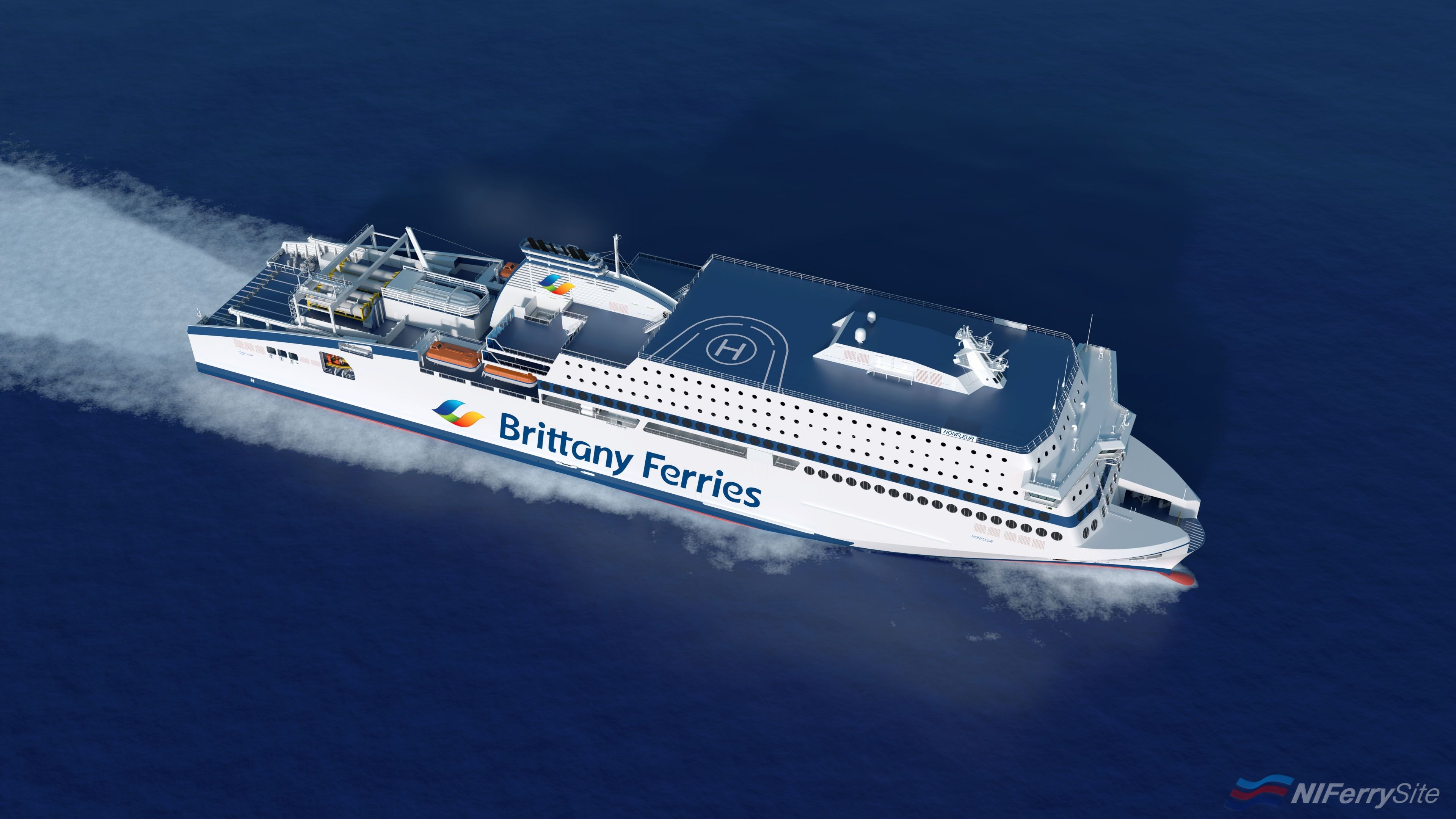 Photo of Brittany Ferries new Portsmouth-Caen ferry 'Honfleur' cancelled?