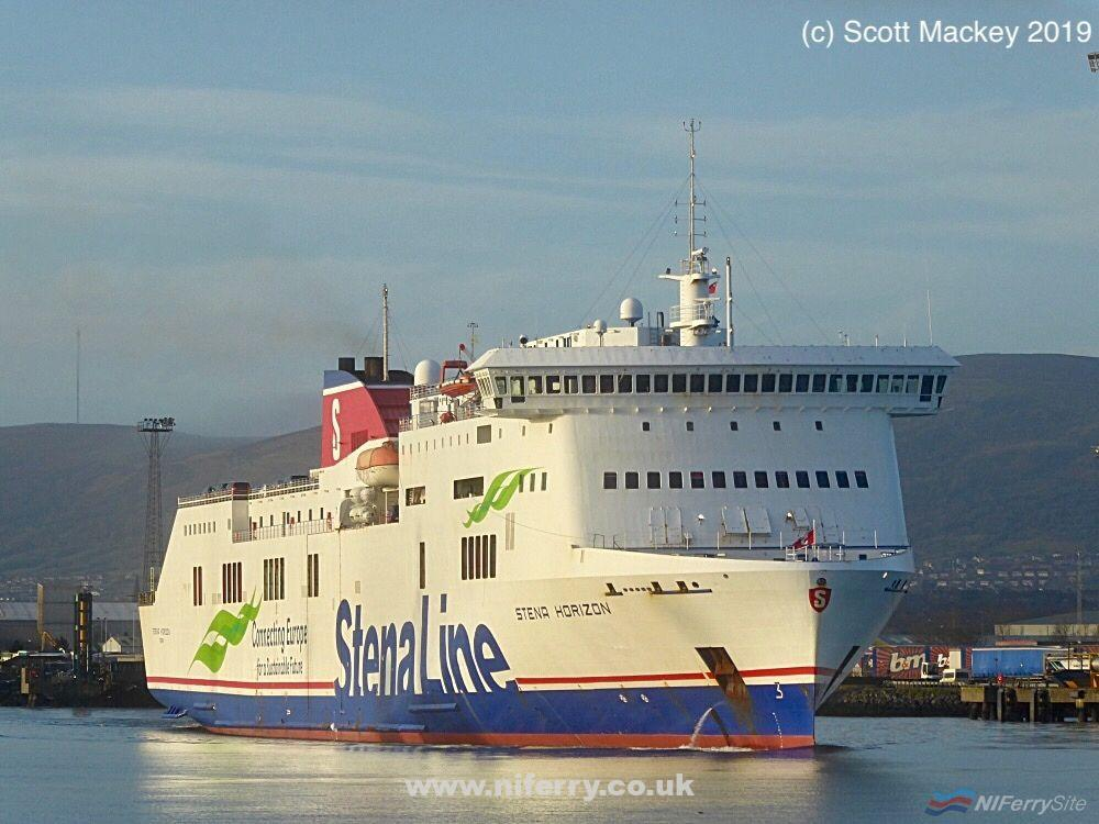 Photo of In Pictures: Stena Line Fleet Movements update