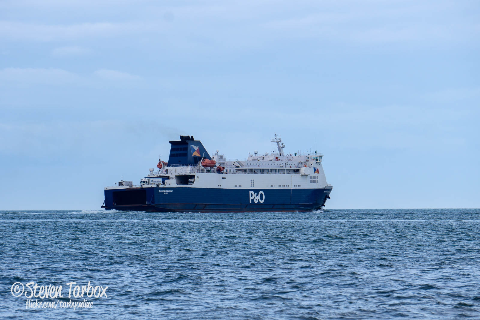 Photo of Larne Ferry European Causeway back in service on Cairnryan Route