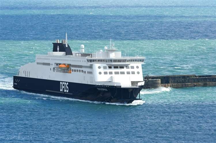 Photo of Steel cutting starts for DFDS's new Dover to Calais Stena E-Flexer Ferry, as name is announced.