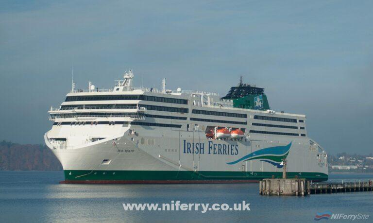 Irish Ferries FSG-built Ireland - France ferry W.B. YEATS. FSG.