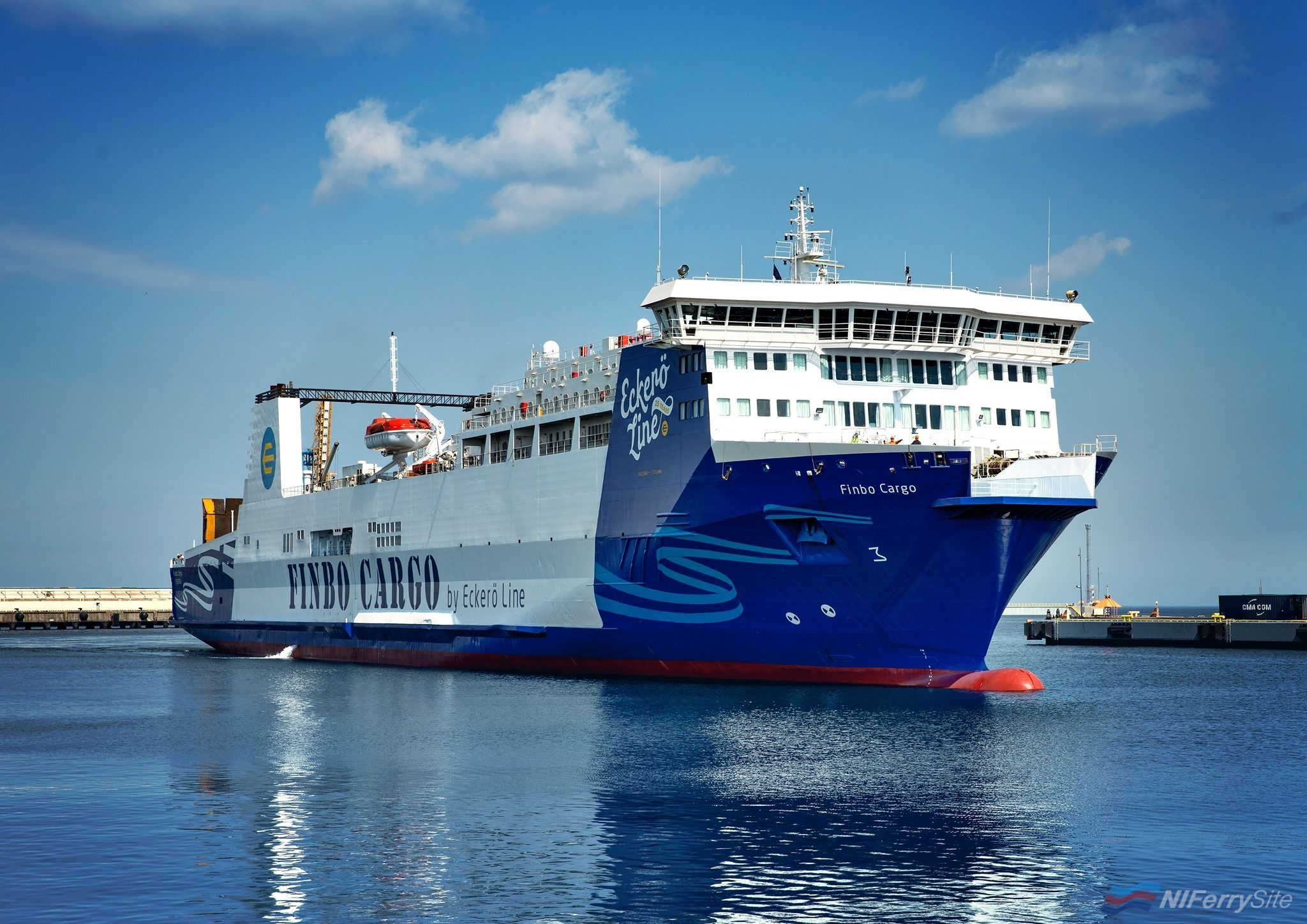 Photo of [Quick News] Former P&O Ferry Finbo Cargo Makes First Commercial Voyage