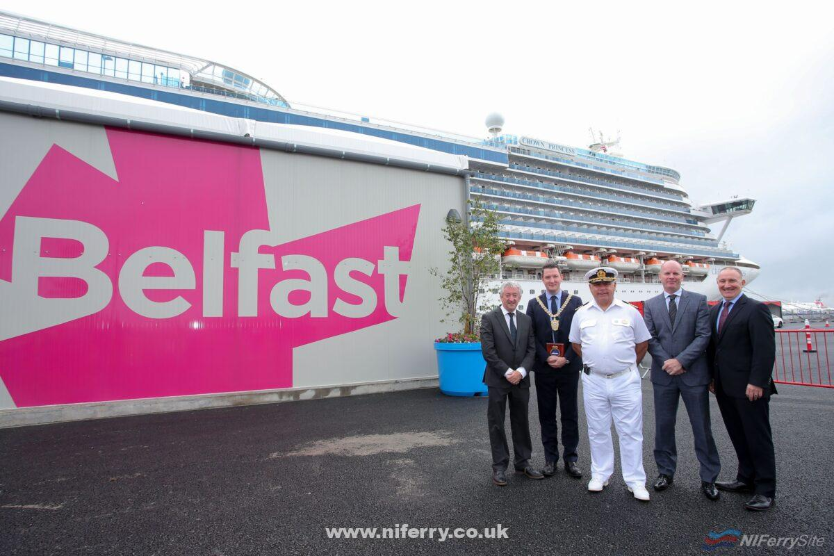 The official launch of Belfast Cruise Terminal. PressEye - Belfast - Northern Ireland - 29th July 2019.  Picture: Philip Magowan / PressEye