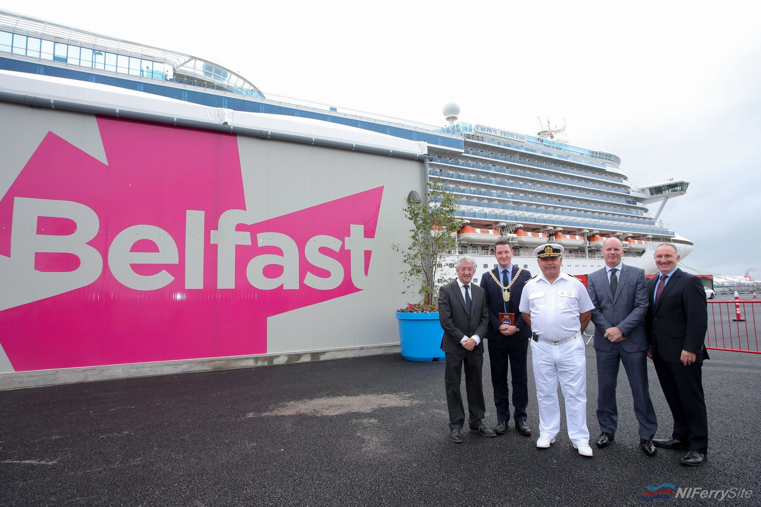 Photo of PR | New Cruise Terminal Opens in Belfast Harbour