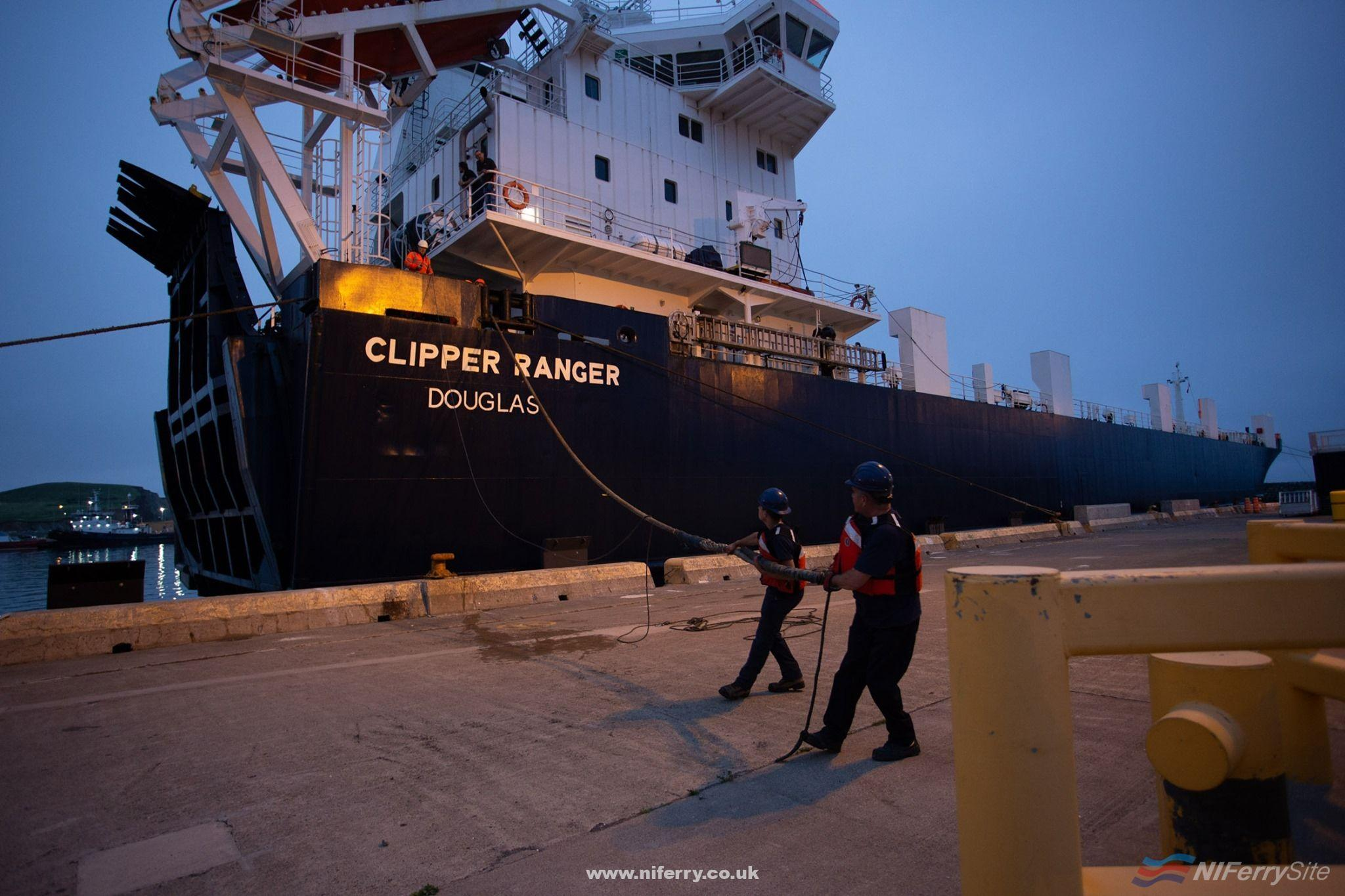 Photo of Seatruck's Clipper Ranger Starts Service in Canada