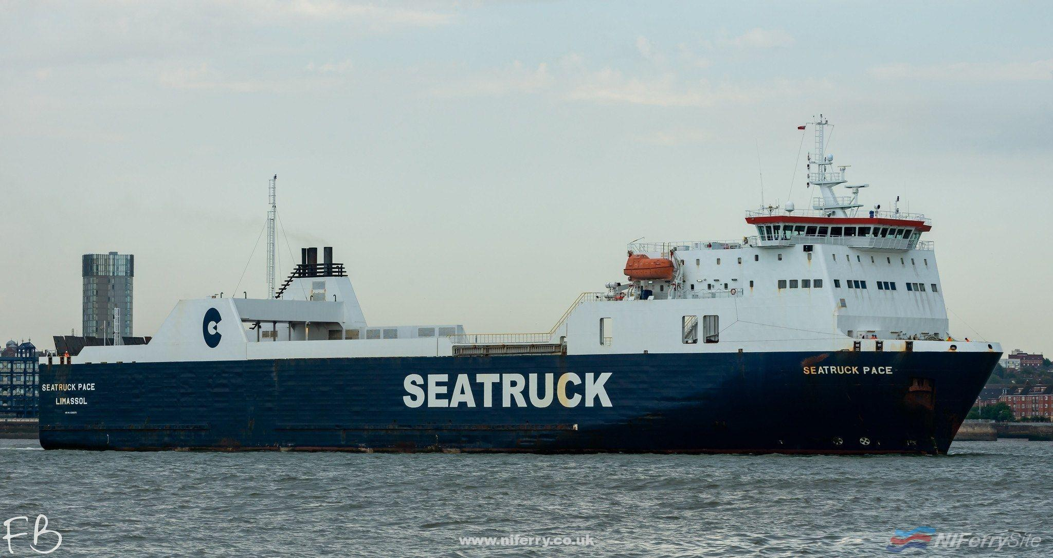 Photo of Seatruck Ferries continues dry docking programme with Seatruck Pace