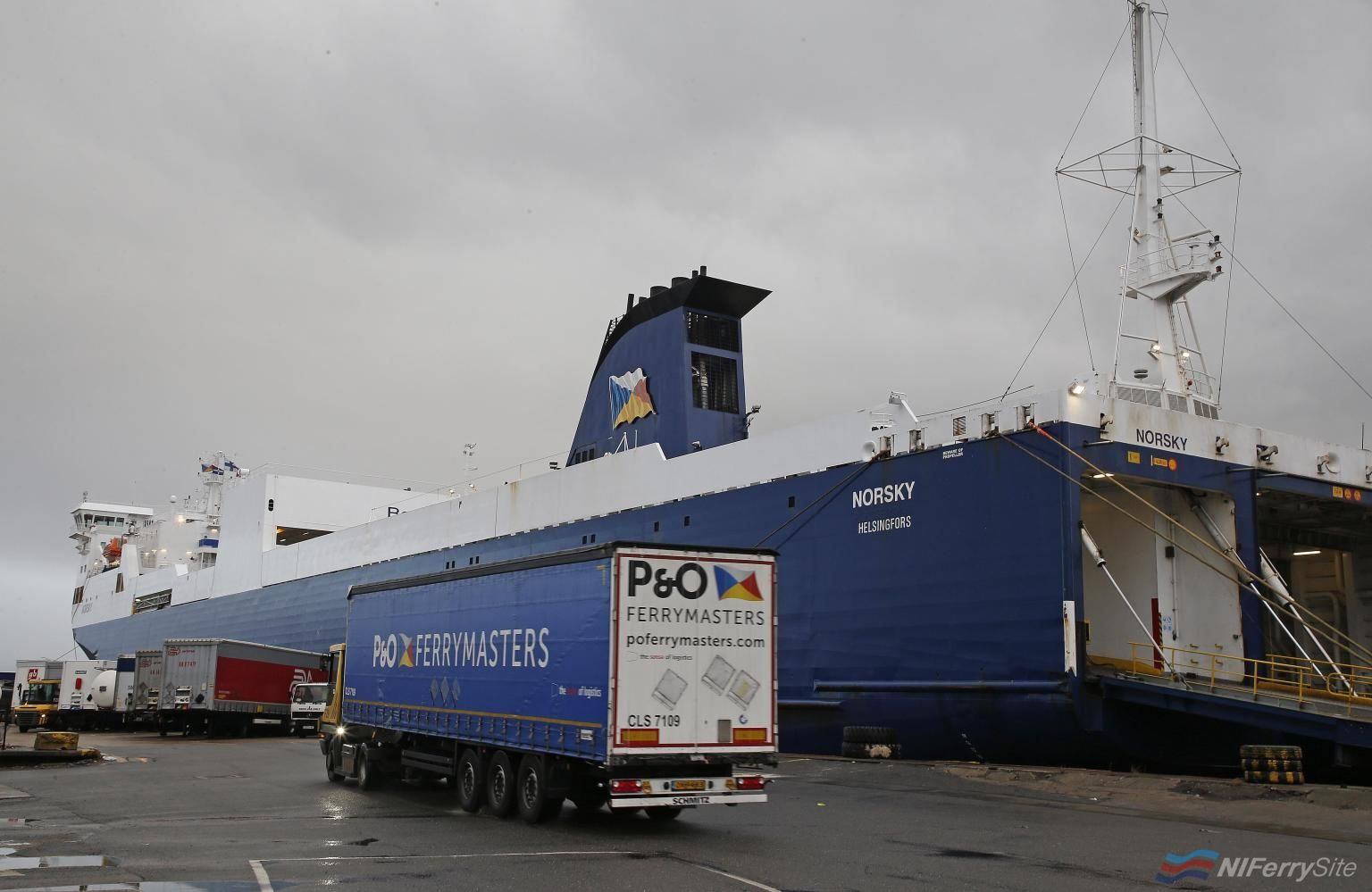 Photo of [PR] P&O FERRIES TO LAUNCH NEW FREIGHT SERVICE CONNECTING CALAIS WITH TILBURY AND LONDON