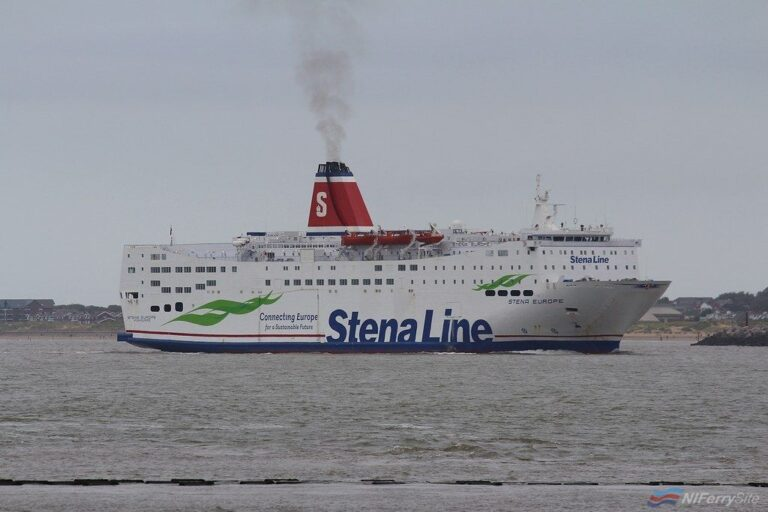 STENA EUROPE arrives In Liverpool from Turkey (via Gibraltar), 15.09.19. Copyright © Das Boot 160 Photography.