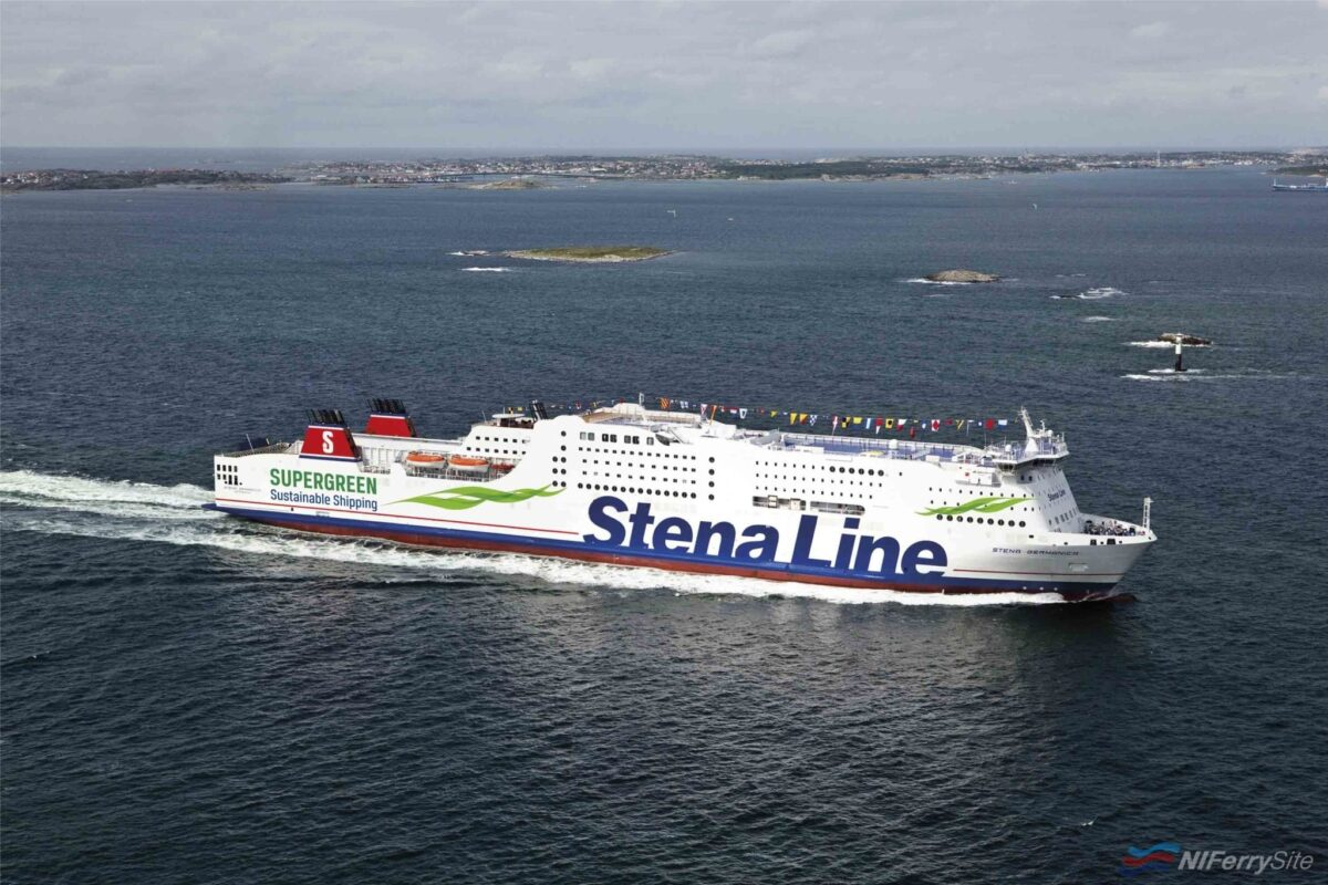 Stena Line's STENA GERMANICA is not only the worlds first ferry to be fuelled by Methanol, but also holds the world record for the longest ever ferry conversion. Stena Line.