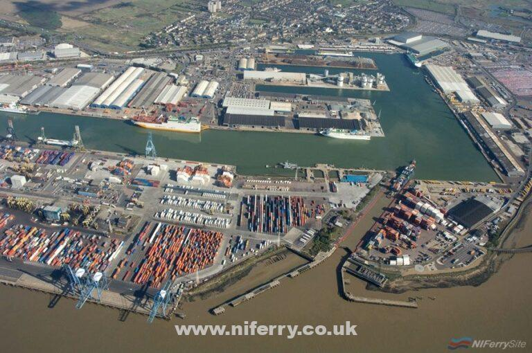 Tilbury Port. Forth Ports.