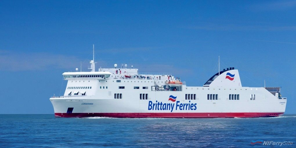 Brittany Ferries CONNEMARA. Brittany Ferries
