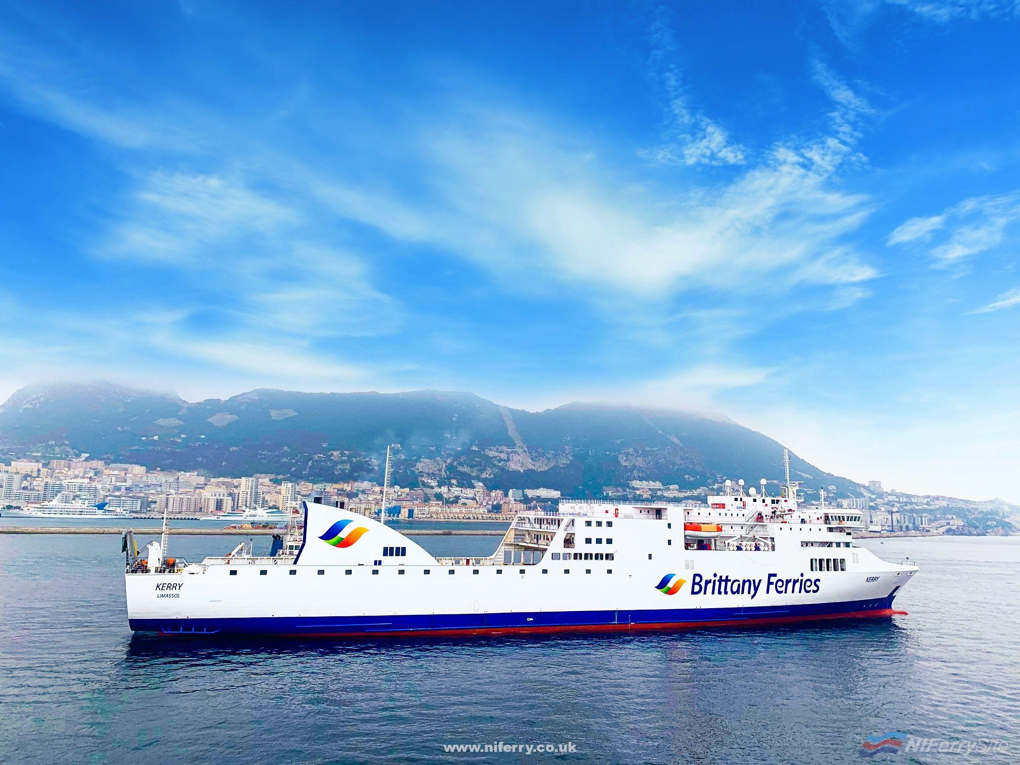 Brittany Ferries KERRY. Brittany Ferries