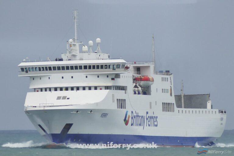 Brittany Ferries KERRY. Brittany Ferries / Jose Luis Diaz Campa.