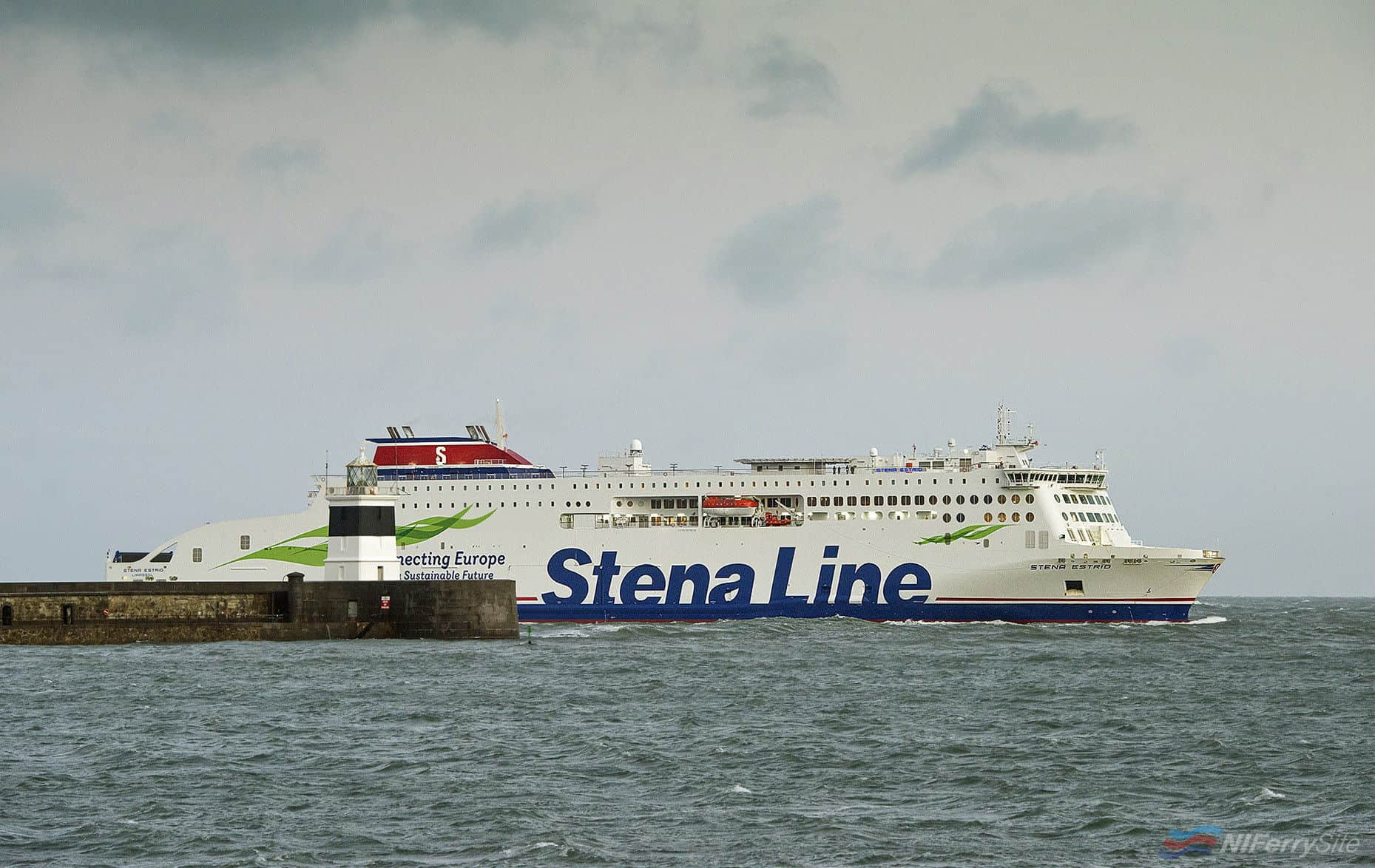 Photo of [PR] She's here!!! Stena Estrid arrives in Holyhead