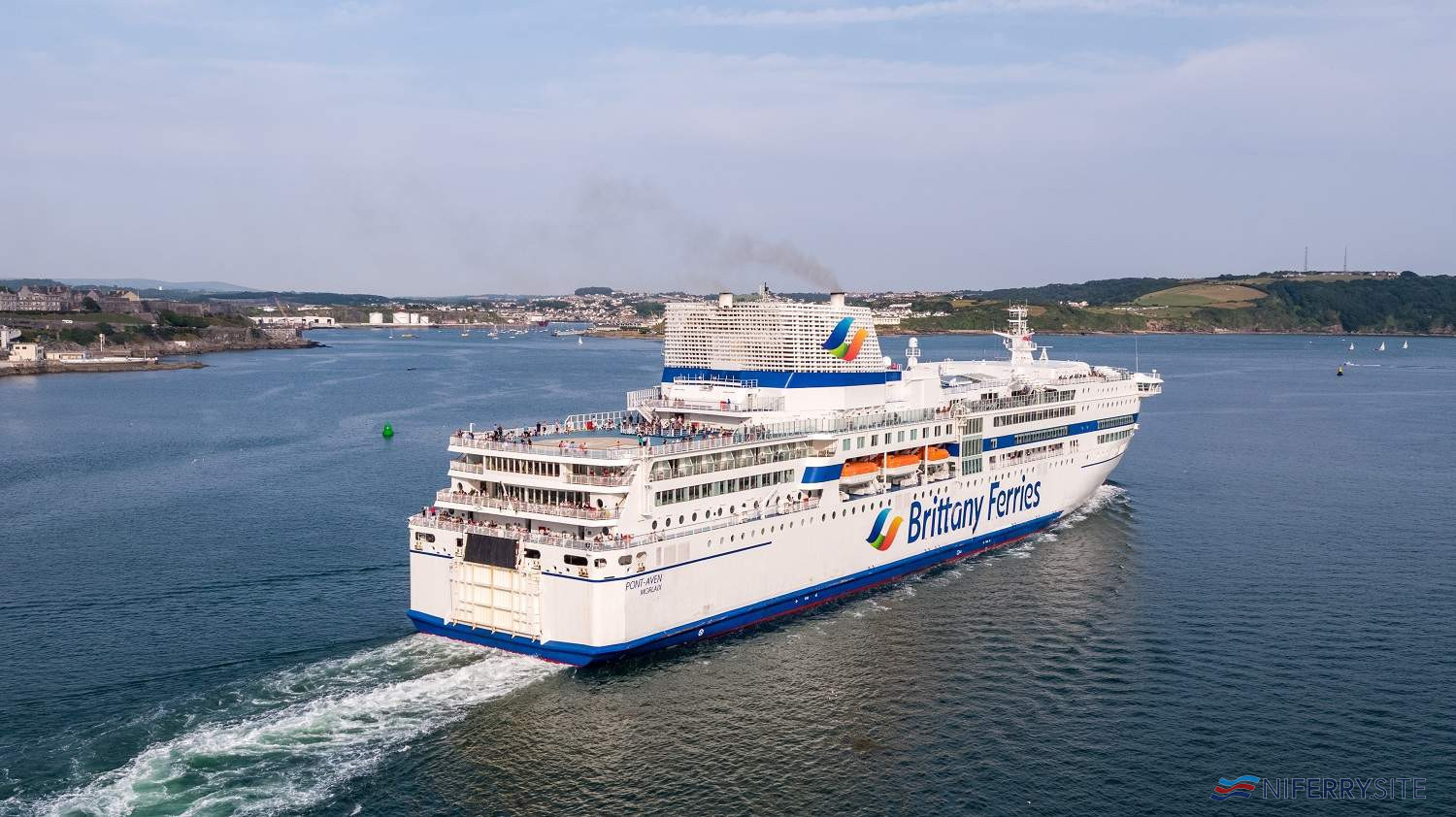 Brittany Ferries PONT AVEN. © Brittany Ferries.