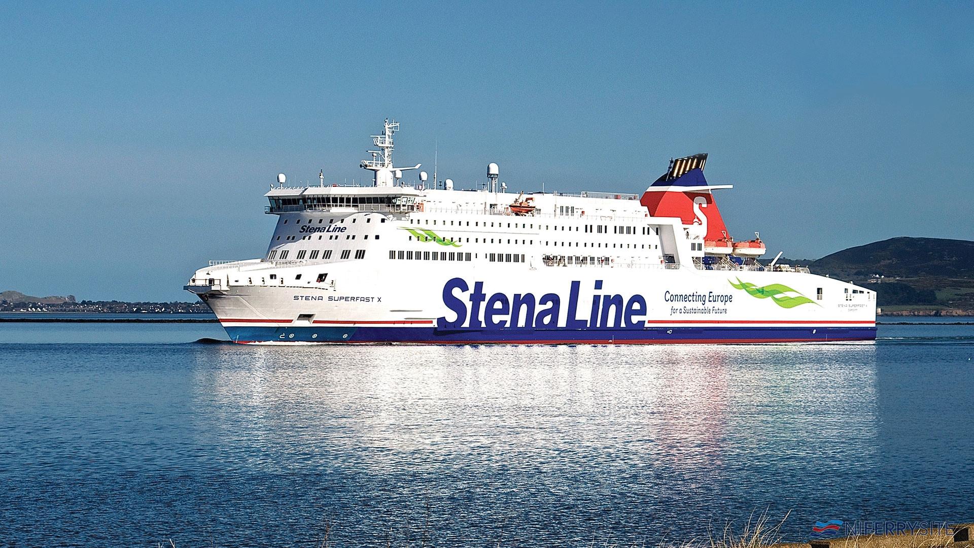 STENA SUPERFAST X. Stena Line.