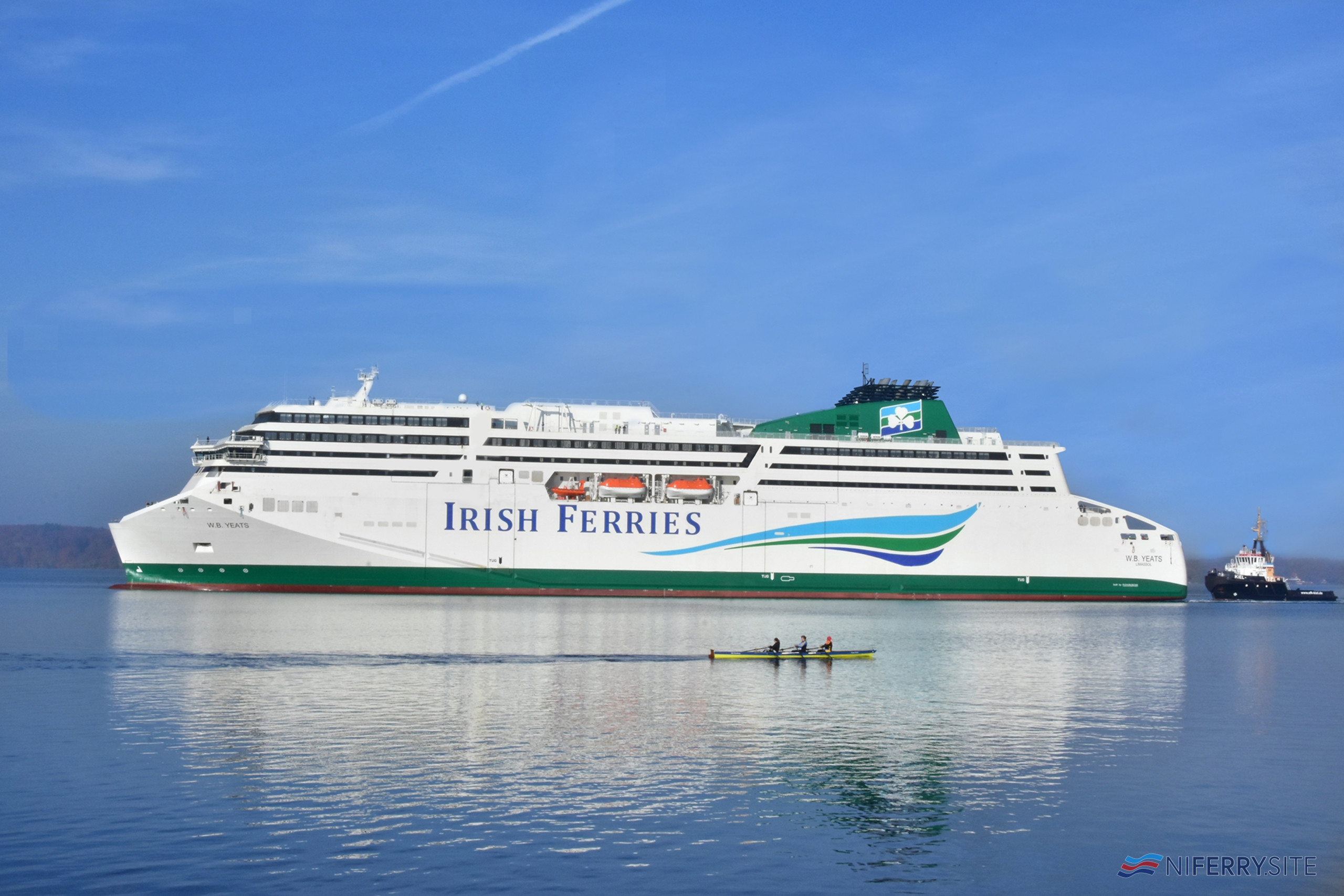 Irish Ferries' W. B. YEATS. Irish Ferries.