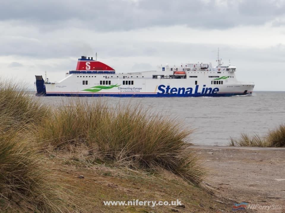STENA LAGAN departed Liverpool at 1400 this afternoon (14.03.20) for lengthening in Turkey. She is due to arrive in Tuzla on March 25th. Once her rebuilding is completed it Is widely expected she will move to one of Stena Line's Baltic Sea routes. Copyright © David Faerder.