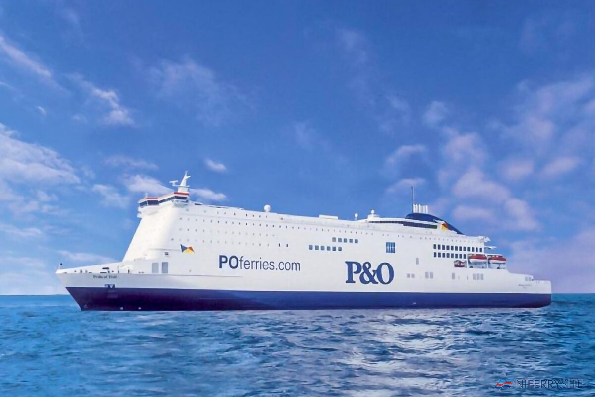 PRIDE OF HULL. P&O Ferries.