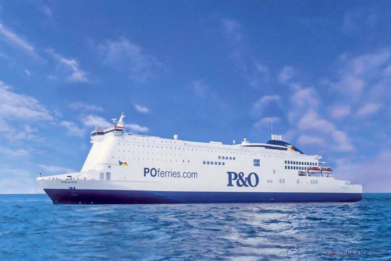 PRIDE OF HULL. P&O Ferries.