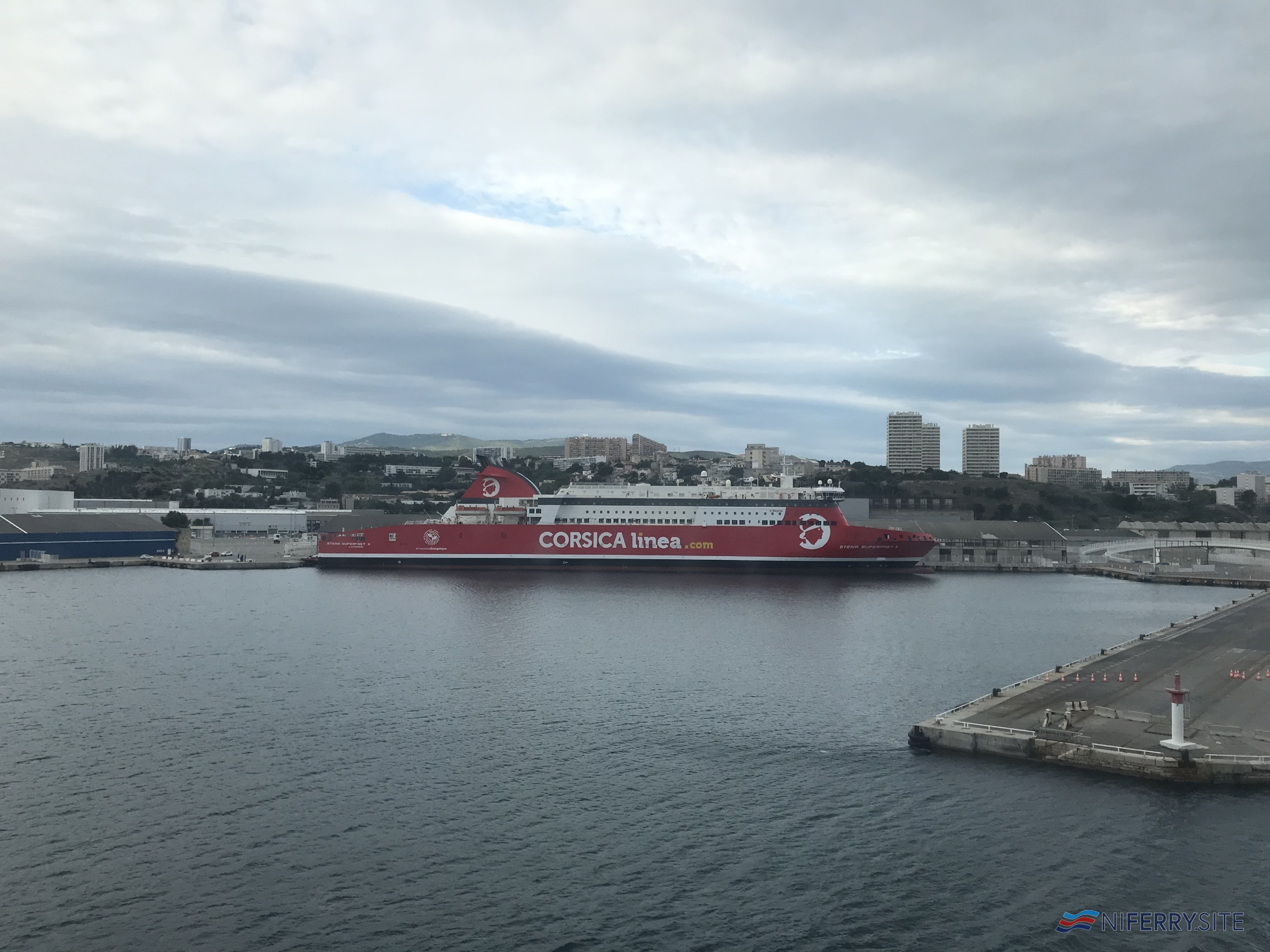 Photo of [PR] Stena RoRo has delivered the night ferry A Nepita after a record-breaking conversion
