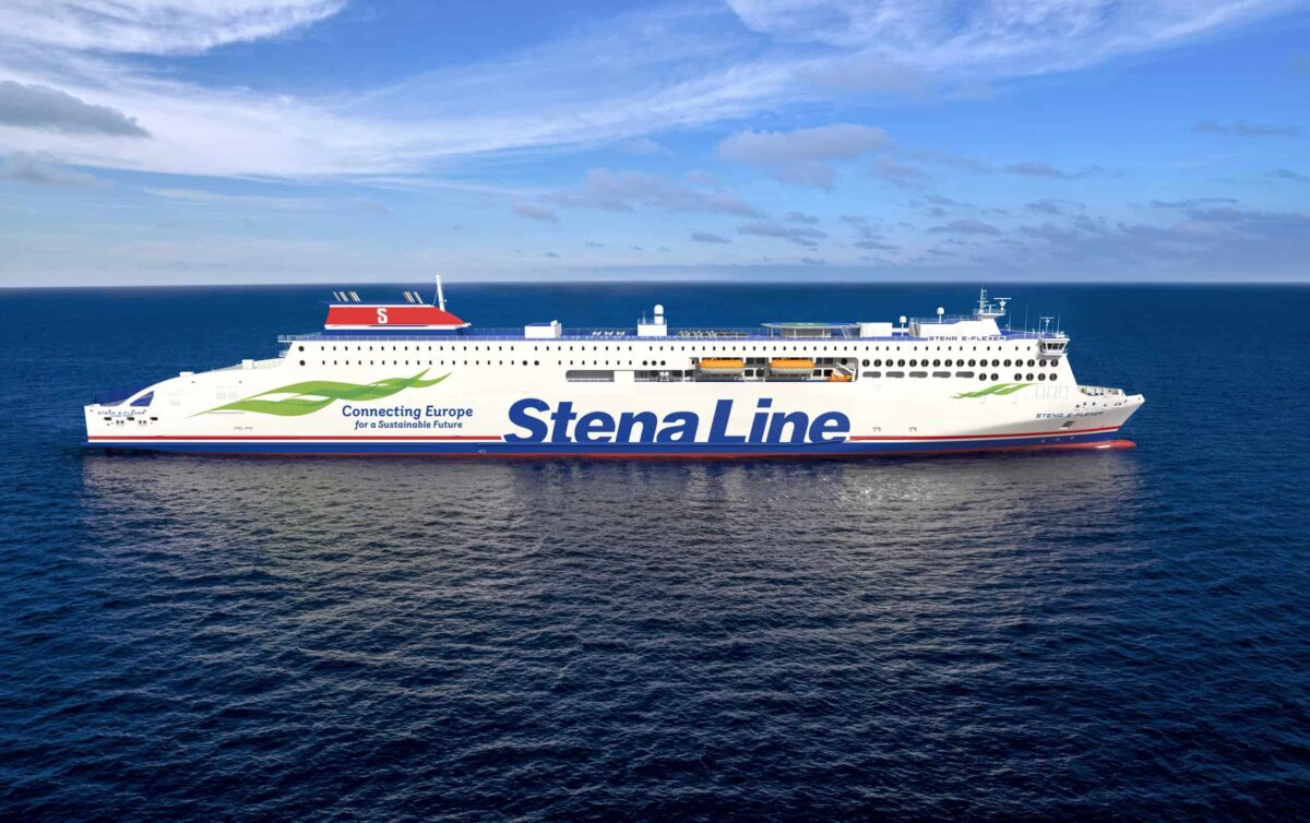 The two vessels that are now under construction are both 30% larger and more energy efficient than previous vessels. Mild Design / Stena Line.
