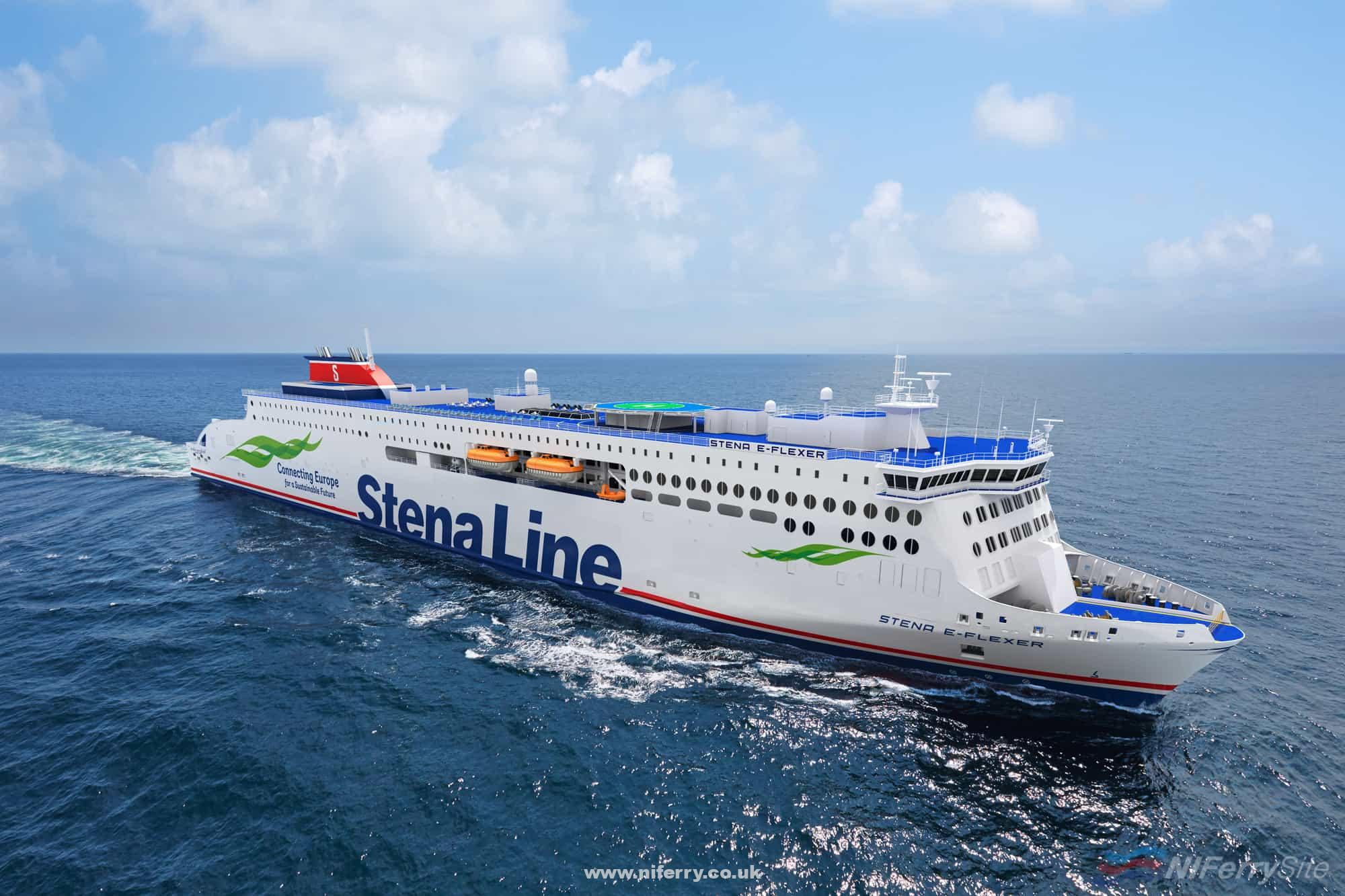 Photo of [PR] New Builds Have Started On Two New Larger Stena Line Ferries