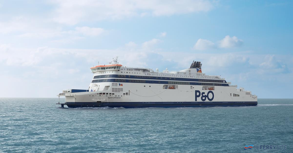 P&O Ferries SPIRIT OF FRANCE. P&O Ferries.