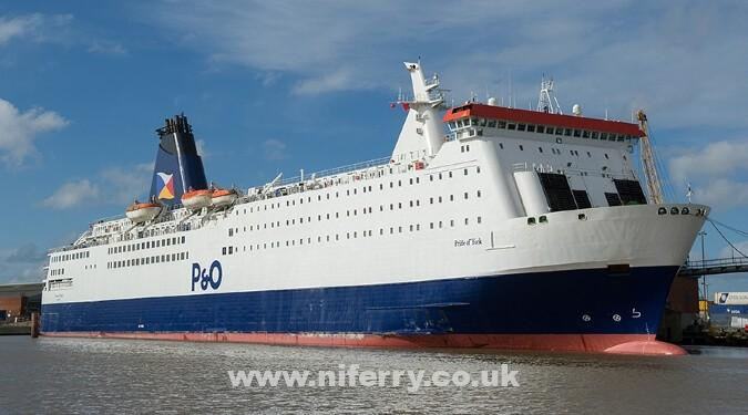 PRIDE OF YORK. P&O Ferries.
