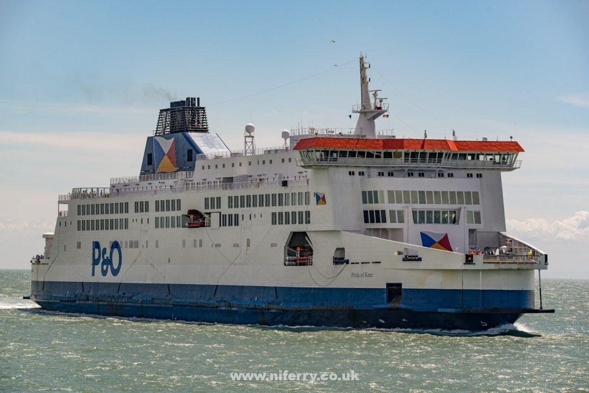 PRIDE OF KENT. P&O Ferries.