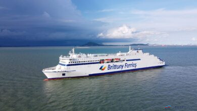 Brittany Ferries GALICIA seen during October 2020. Brittany Ferries