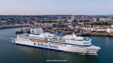 PONT-AVEN at Plymouth. Image: Brittany Ferries