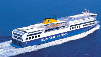 BLUE STAR 1. Image: Attica Group.